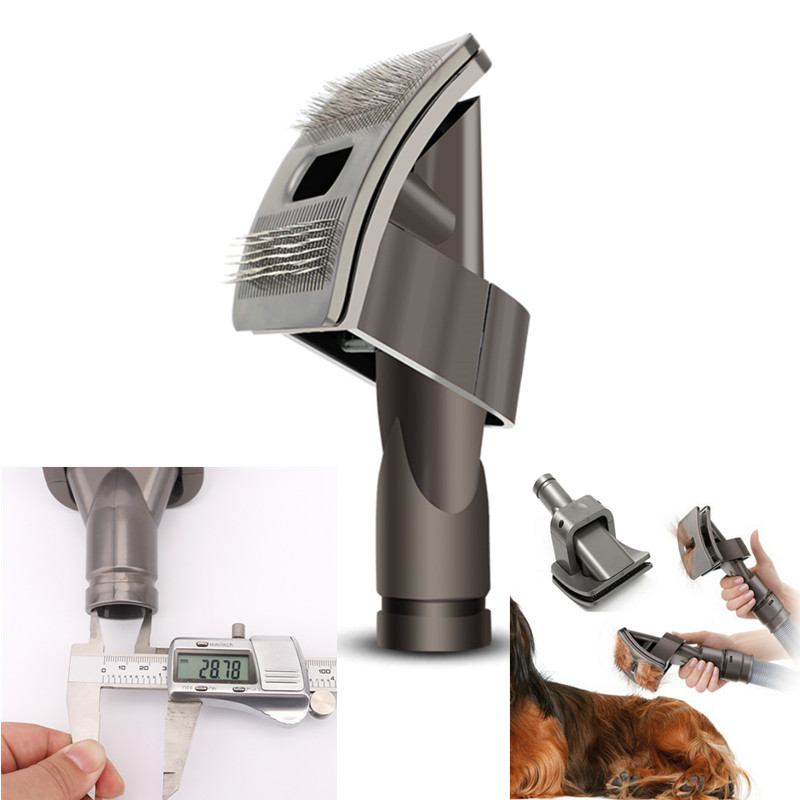 1pcs High Quality Dog Pet Tool Brush Drop Shipping For Dyson Groom Animal Allergy Vacuum Cleaner image