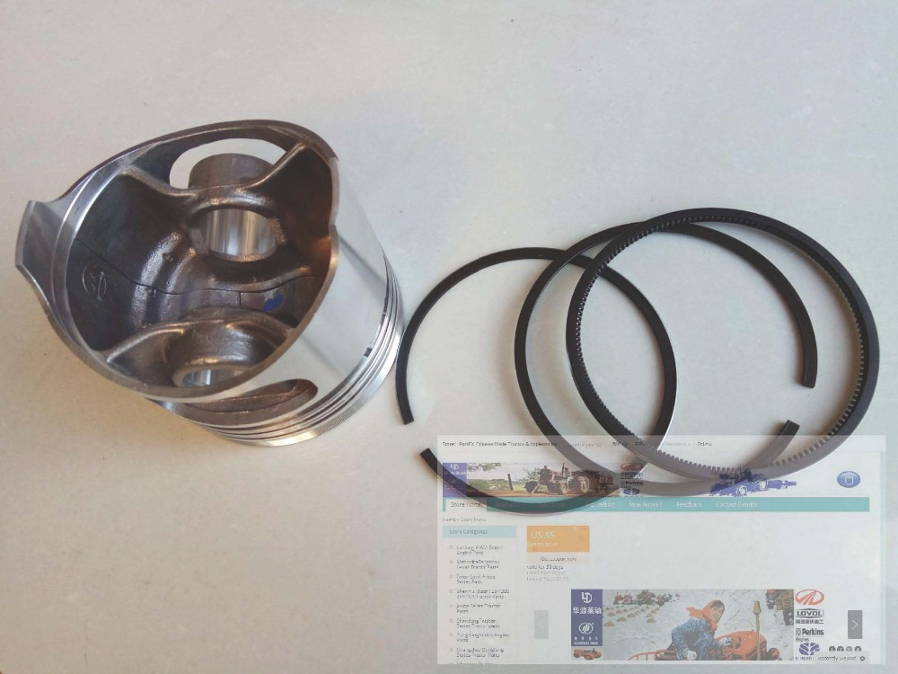 Wuxi KAMA KM12DL500F parts, the set of piston with piston rings group, part number: luoyang yto engine lr4108t53 parts the set of piston rings part number rb 050002 1 03 1 0200 1