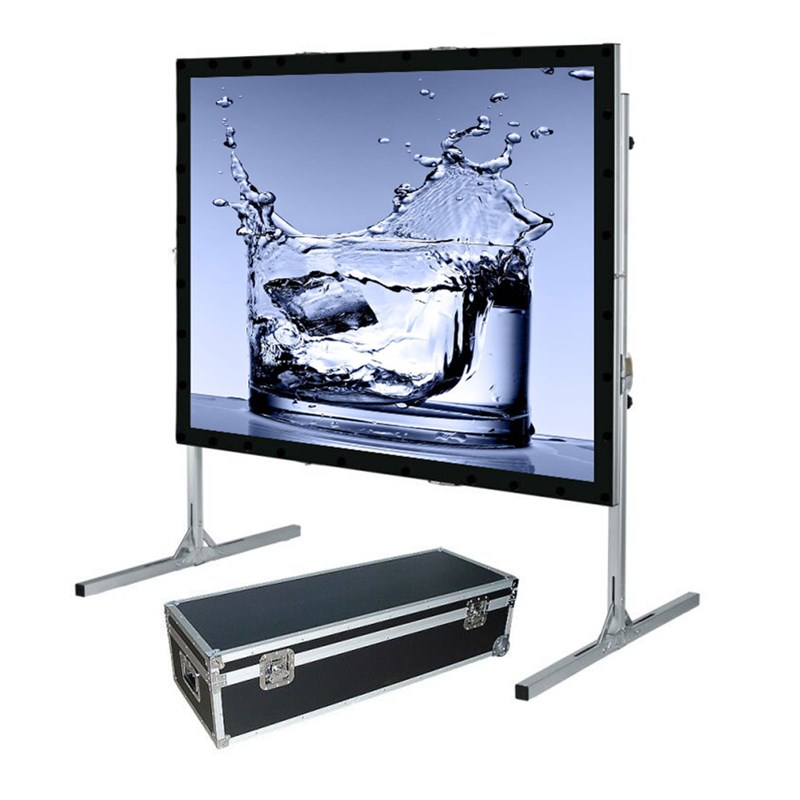 150 inch 4:3, Foldable Outdoor Portable Light Weight Front Projection Movie Screen