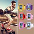 Capa Workout Gym capa Samsung Galaxy Note 1 2 3 4 i9220 N7100 N9000 N910 correr desporto Arm Band à prova d ' água para HTCm7 m8 m9