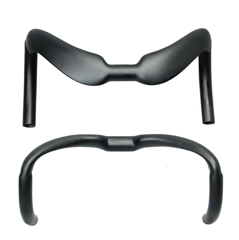 купить EC90 Carbon Handlebar Bent Bar Track Bar Drop Bar 31.8mm 375 / 385mm Racing Hectic Bars по цене 5048.81 рублей