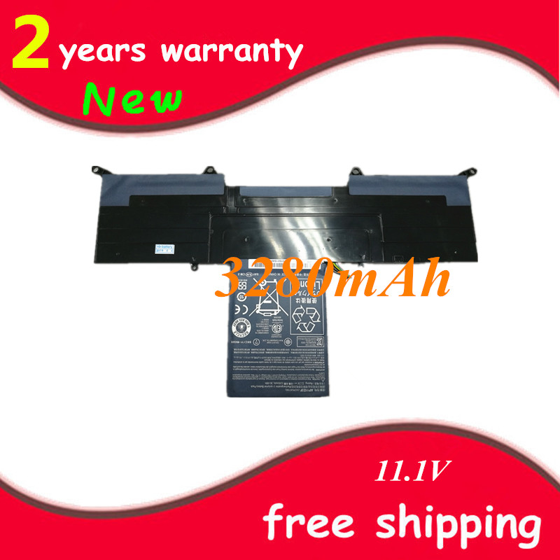 New Laptop battery For Acer Aspire S3 S3-951 S3-391 MS2346 <font><b>AP11D3F</b></font> AP11D4F 3ICP5/65/88 3ICP5/67/90 11.1V 3280mAh image