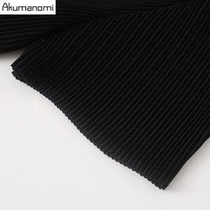 Image 5 - Estate Drappeggiato Del Vestito Abbigliamento Donna Nero O Collo Manica Corta Che Borda Il Vestito di Alta Qualità di Modo Più Il Formato 5XL 4XL 3XL 2XL XL L M
