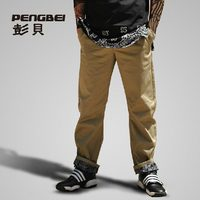 Hot! promotion plus size high quality overall hip hop baggy mens jogger pants sweatpants cargo casual long trousers