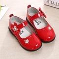 2016 nova primavera shoes crianças do sexo feminino coreano bow shoes crianças shoes princesa meninas do bebê shoes