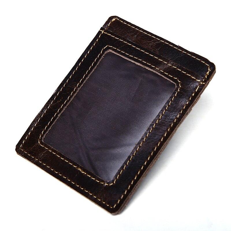 Aliexpress.com : Buy Luxury Genuine Leather Men Credit Card Holder ...