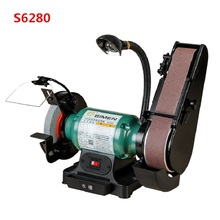 цена на 6 inch 8 inch bench wheel belt grinder, sharpener, polishing machine, grinder, belt machine