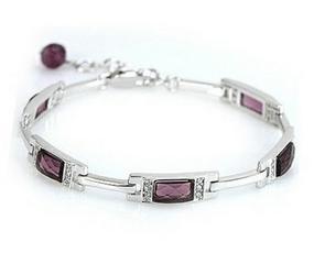2017 NEW high quality ladies bracelet/925 sterling silver Austria crystal women bracelets jewelry wholesale drop shipping