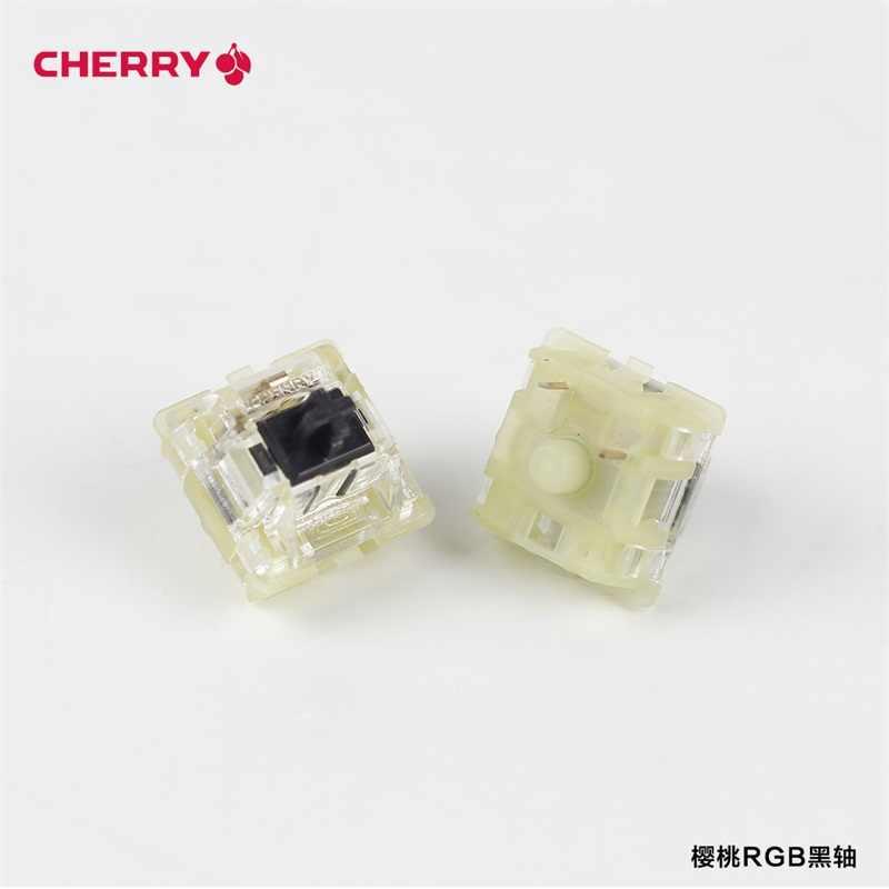 Partai Besar Otentik SMD RGB Cherry MX Switch 3 Pin Keyboard Mekanik Kecepatan Perak Merah Biru Pink Switch