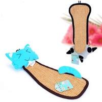 Door Cat Scratcher Plush Toys Kitten Pet Scratch Board Scratching Post Scratcher Sisal Carpet kitty Furniture