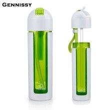 GENNISSY 350 ml/500 ml Sport Straw Wasserflasche Für Outdoor Fahrrad Radfahren Tritan Sport Gym Trinkflaschen BPA freies