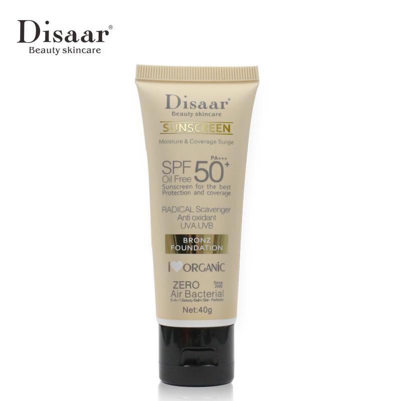 Солнцезащитный крем для тела Disaar, отбеливающий крем, солнцезащитный крем для кожи, антивозрастной увлажняющий крем с контролем масла SPF 50 для кожи лица