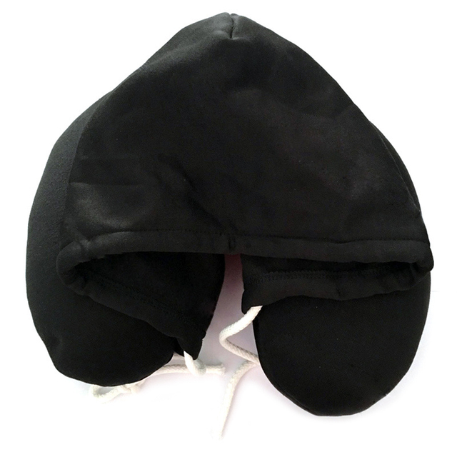 Hooded Travel Neck Pillow