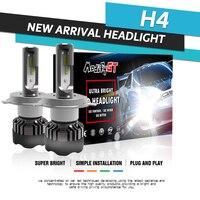 Modifygt 2pcs H4 led H7 led H11 9005/HB3 9006/HB4 3 color changing headlight 3000K 4300K 6000K 100W 12V 24V car accessories