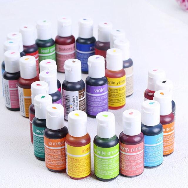 Online Shop Food color pigment cream fondant Gel colors for cake ...