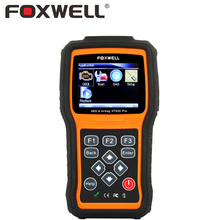 FOXWELL NT630 Pro Araba Motor Tarayıcı ABS Hava Yastığı SRS SAS Kazasında OBD üzerinden veri Sıfırlama Temizle Hatalar 2 Oto OBD2 OBDII Teşhis aracı