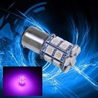 PA LED 4PCS x 1156 BA15S 20SMD 5050 LED For Car Auto Signal Trunk Lamp Bulb color PINK