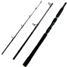 1.8m 2.1m Carbon Fiber Fishing Rod olta Heavy Duty Boat Saltwater Fishing Rod 3-section Travel Fishing Rods Pole With Case Bag
