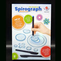 NEW Spirograph deluxe set Design Tin Set Draw Spiral Designs Interlocking Gears & Wheels,draw educational toys with 3 pcs Pens