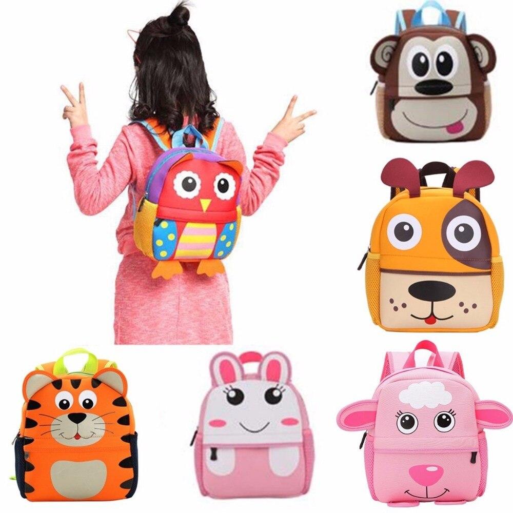 Cartoon Backpack Infant Kids School Bags For Girls Boys 3D Cute Animal Rucksack Children Backpacks Schoolbags Satchel Mochilas