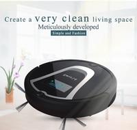Eworld M884 Robot Vacuum Cleaner With Mop Black Vacuum Cleaning Robot For Hardwood Flooring