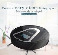 Eworld чистящие средства M884 беспроводной робот пылесос с шваброй черный пылесос робот для дома паркет