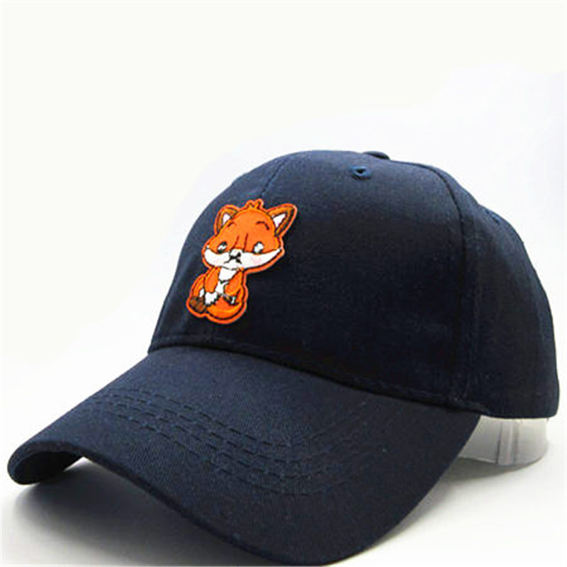 33c6aaa056f LDSLYJR 2018 small Fox embroidery cotton Baseball Cap hip hop cap  Adjustable Snapback Hats for kids and adult size 124-in Baseball Caps from  Apparel ...