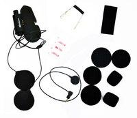 Base para capacete de motocicleta  fone de ouvido bluetooth  original  kit de acessórios  macio  fone de ouvido microfone para vimoto v6 v3  capacete fechado