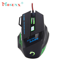 Wired USB Optical LED Gaming Mouse Top Quality 3200DPI 7 Butttons Adjustable Mice For Laptop PC Desktop Gamer Rato 17July21