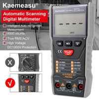 Kaemeasu multimètre numérique Intelligent à balayage automatique 3 5/6 chiffres DC/AC outils de Maintenance électronique KM-DM01D