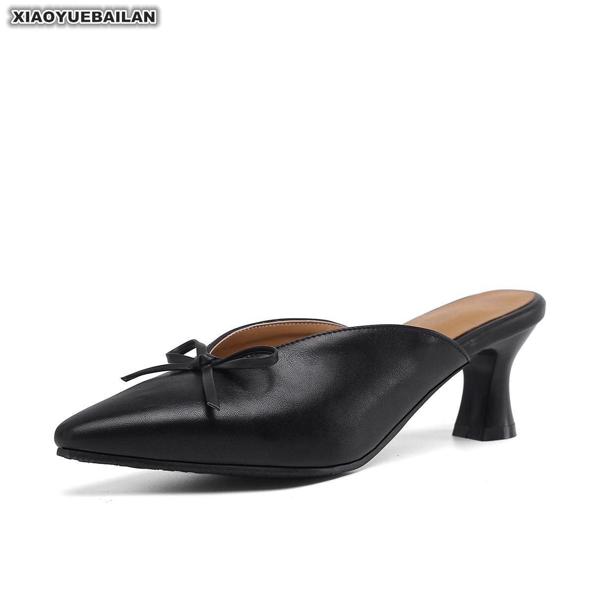 Printemps et été 2019 nouvelle mode petite jetée carrée taille quai talon moyen Baotou Baitao sandales femme