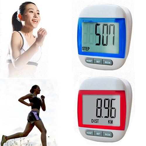 Multi-Function Mini Waterproof Digital Pedometer Step Movement Calories Counter stappenteller