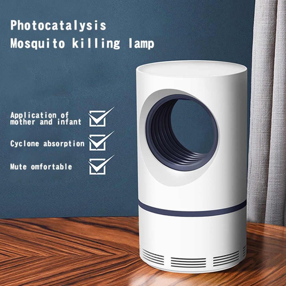 100% Бренд новый высокое качество антимоскитная лампа 5 Вт USB умная оптически управляемая лампа для уничтожения насекомых Прямая доставка