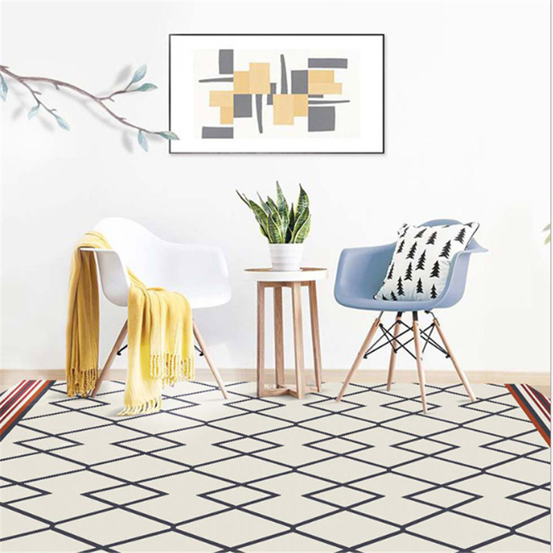 AOVOLL tapis nordiques et tapis pour la maison salon chambre enfant chambre tapis pour le salon moderne salon tapis - 5