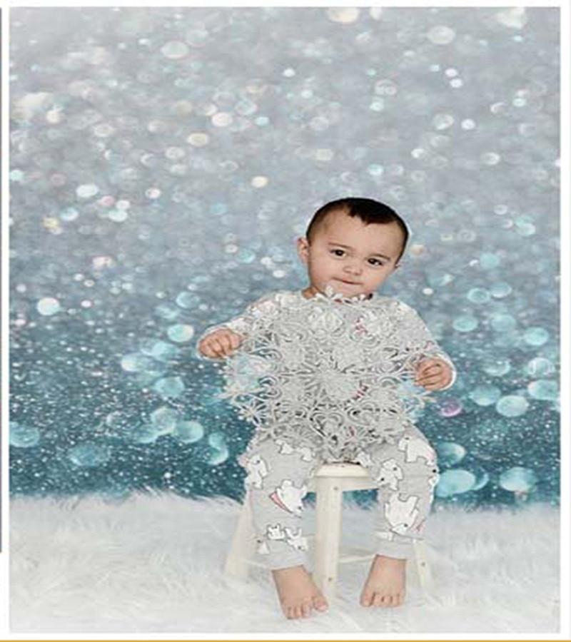 Crystal Deep Blue Style 150*200cm Newborn  Photo Background Digital  Vinyl Backdrops for Photography Kids Birthday Photo Studio deep blue