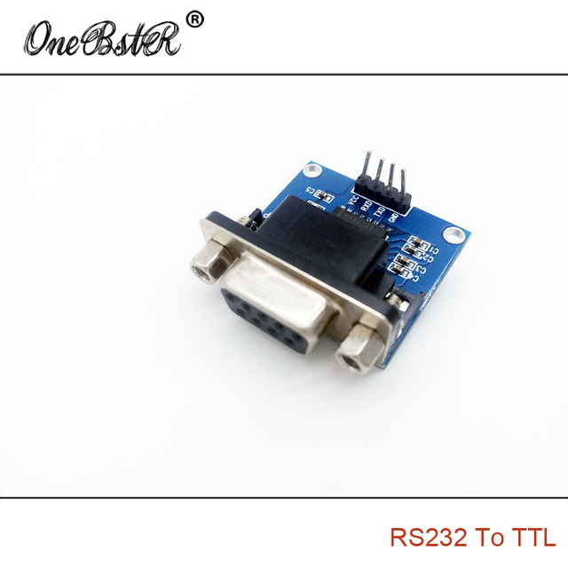 Free Shipping RS232 TO TTL / Serial Port To TTL / Serial Module / Brush Board MAX3232 Chip
