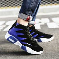 Sneakers Men Shoes Autumn Winter High Top Sneakers Male Shoes Adult Mixed Color Zapatillas Zapatos