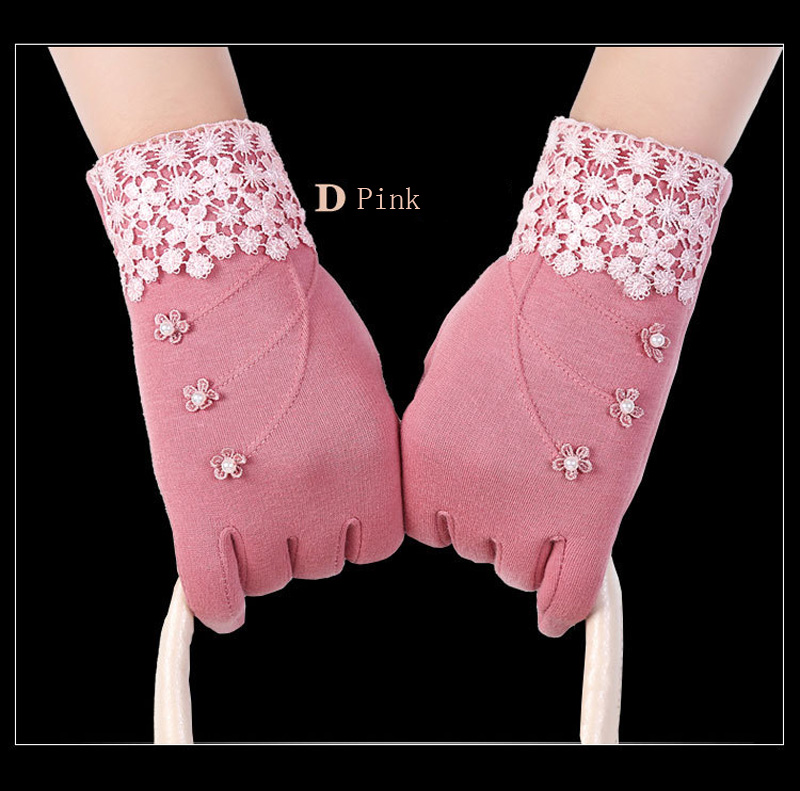 NIUPOZ Fashionable and Elegant Women Touch Screen Gloves for Winter made of Non Inverted Velvet to Keep Hands Warm 12