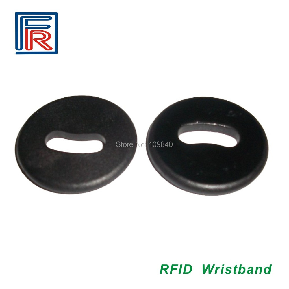 Free shipping 26mm TK4100&EM4100 Compatible Laundry Tag,LF RFID Laundry tag