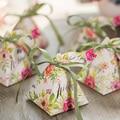 Sólo hermoso romance jardín secreto una nueva boda caja de regalo caja de embalaje rojo personalidad creativa continental caja alegre