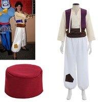 Cosplaydiy Custom Made Aladdin Lamp Prince Aladdin Costume For Adult Man Dance Party Movie Cosplay Costume L320