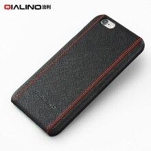Оригинальный qialino для iphone 6S Plus Чехлы натуральная кожа с покрытием Hard сумка для iphone 6S плюс 6 плюс Чехол Coque