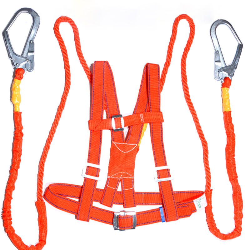 Safety Belt Full body Protection Construction Site Safety Harness Belts High Quality Labor Working Worker Protect Equipment