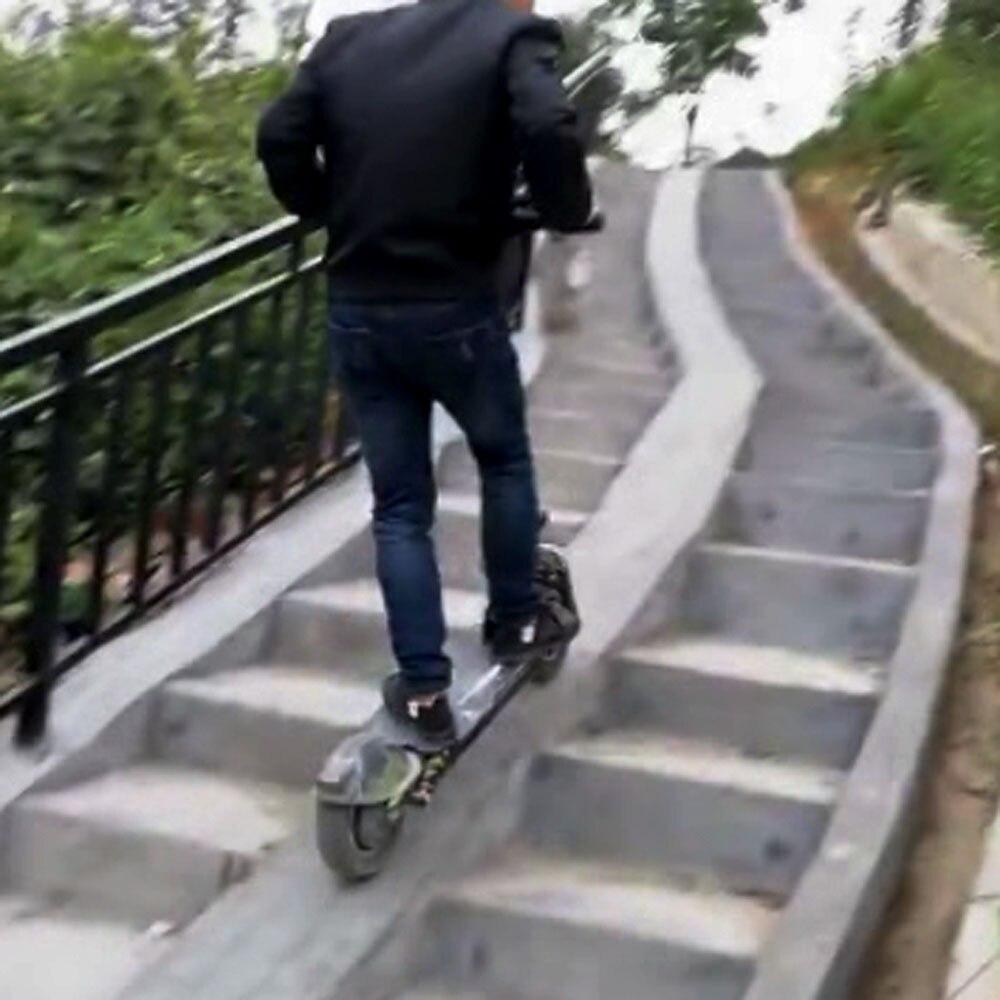 Elektro-scooter Bergauf Angetrieben Donner Schnell 85 Km/h Off Road Rad Elektroroller Elektrische Roller Roller Skateboard Mit Dual Motor Einfach Und Leicht Zu Handhaben