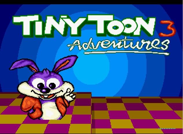 Tiny Toon Adventures 3 16 bit MD Game Card For Sega Mega Drive For SEGA Genesis