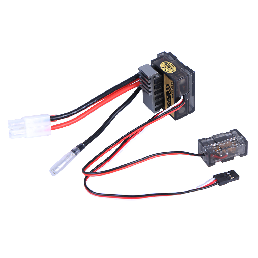 Brushed 320A Regulator 1/8 1/10 ESC Electronic Speed Controller for HSP Dual Mode Band Brake Car Boat Spare Part 10a brushed esc two way motor speed controller for 1 16 1 18 1 24 car boat tank f05427 28