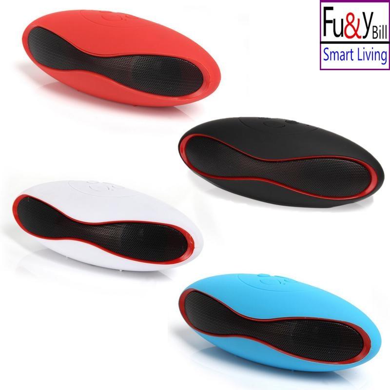 2017New Fashion Mini Portable Rugby Bluetooth Speaker Boombox Wireless Sports Loudspeaker Music Player Support TF/USB SoundBar