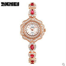 skmei 1199 brand women watch relojes de mujer japan movement diamond watches