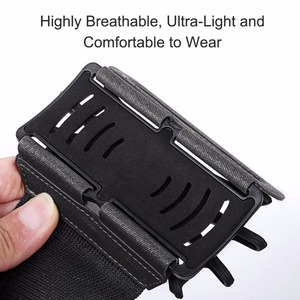 """Image 4 - 100% Wristband Phone Case Holder 180 Rotatable for Running Cycling Gym Jogging Suitable For 3.5"""" 6"""" All Cell Phone"""