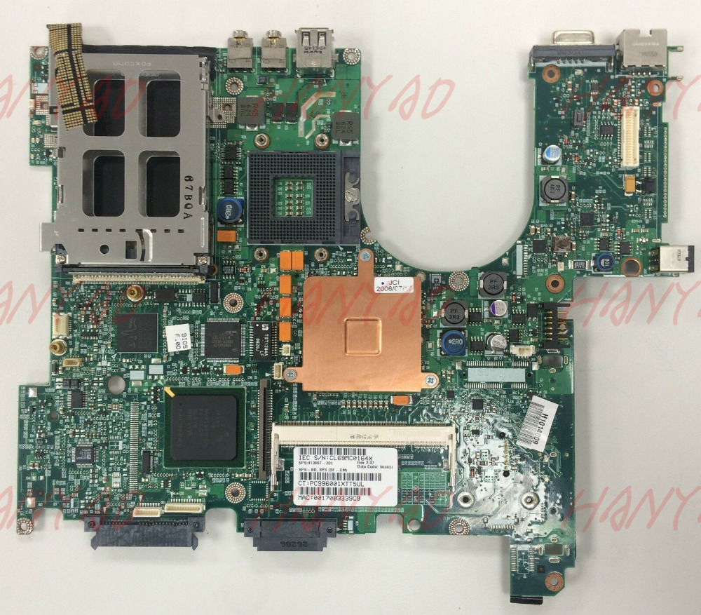 for hp nx6310 laptop motherboard ddr2 413667 001 6050a2035001 mb a05 Free Shipping 100 test ok in Laptop Motherboard from Computer Office